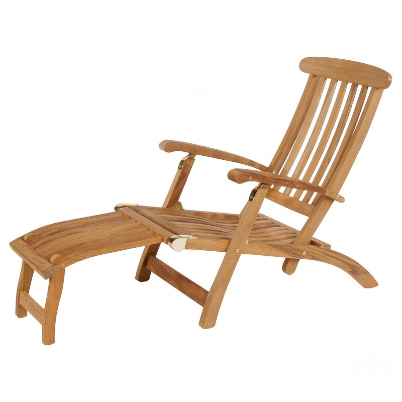 commodore deckchair 52 cm voetenbank teak. Black Bedroom Furniture Sets. Home Design Ideas