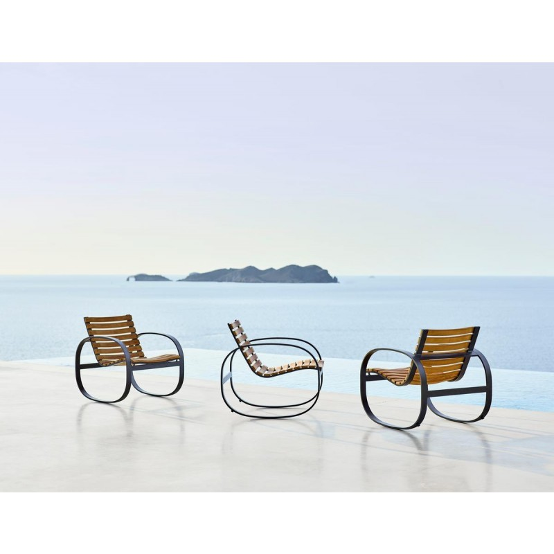 Pleasant Parc Rocking Chair Teak Aluminium Gmtry Best Dining Table And Chair Ideas Images Gmtryco