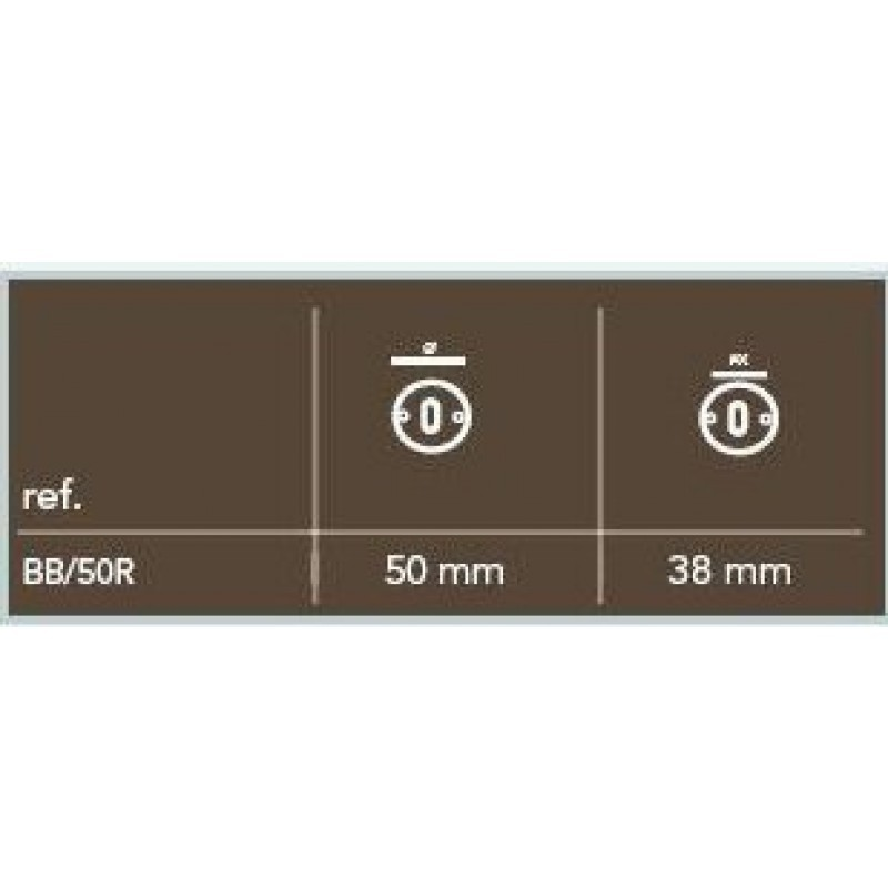 Pure-sleutelrozet-BB/R50-rond-50-mm-wit-brons