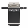 Boretti gas barbecue Bernini, zwart